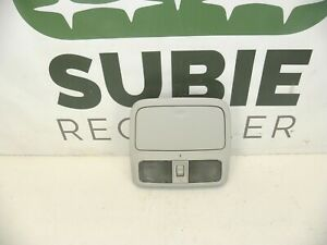 2009 SUBARU FORESTER OVERHEAD CONSOLE MAP LIGHT SUNROOF  P/N 92151SC010LO