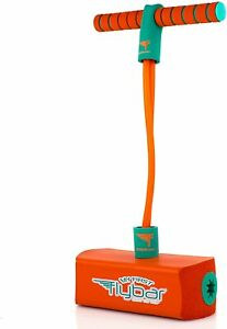 My First Flybar Jump & Squeak Foam Pogo Hopper Jumper for Kids 3 and Up Orange