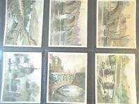 1929  PICTURESQUE BRIDGES British England set 25 large cards Tobacco Cigarette