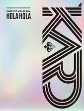 KARD - Hola Hola (1st Mini Album) CD+Booklet+Folded Poster+Tracking Number