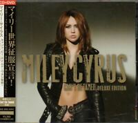 Miley Cyrus Can't Be Tamed (Deluxe Edition) JAPAN CD+DVD with OBI AVCW 13121/B