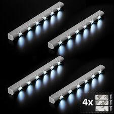 4x Réglette lumineuse à 6 LEDs avec capteur de mouvement sous meuble détecteur
