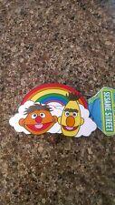 Sesame Street Belt Buckle Bert and Ernie Muppets Enamel Rainbow Pride New