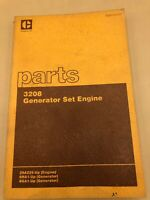 Caterpillar Cat 3208 Generator Set Engine Parts Catalog Manual 1985 29A225-Up