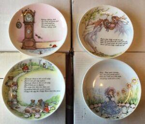 Coalport Bone China Plate - Nursery Rhyme Series - Hush-a-bye-baby (16)