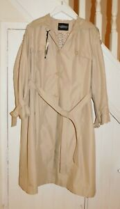 DANNIMAC - NWT - PLUS SIZE, SIZE 24 - TRADITIONAL TRENCH COAT WITH FLORAL LINING