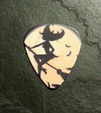 Halloween Sexy Witch Moon Bat Guitar Pick Collectible Gift Present Memorabilia