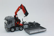 Wsi 02-2576 04-2097 Scania CG17N 8x4 + Palfinger Pk 78002 Sh + Ballast Box 1:50