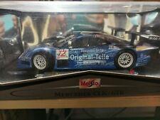 Maisto - Mercedes Benz CLK-GTR (1/18 scale diecast model car, Blue) 38848/12