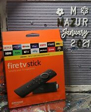 Amazon - Fire TV Stick with Alexa Voice Remote and tv controls 3rd Gen 2020