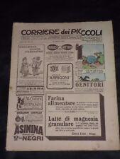 ***CORRIERE DEI PICCOLI N. 33 ANNO VI*** 16/8/1914 CON SOVRACOPERTA