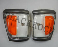 Front turn Corner light Gray Indicator for 88-97 TOYOTA HiLux Ln106 4wd Pickup