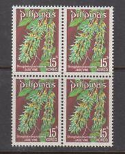Philippine Stamps 1975 Jade Vine Complete Block of 4 MNH