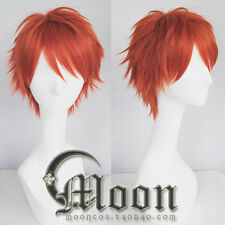 Men Harajuku Short Hair Wig Game Korea Mystic Messenger 707 Luciel Cosplay Choi