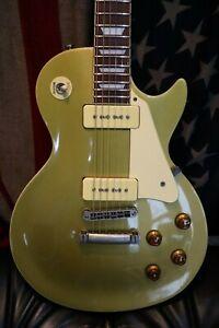 Aria Les Paul Gold top guitar made in Korea.