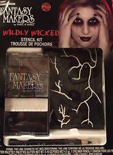 """Fantasy Makers Wet n Wild Eyeshadow Stencil Kit """"Zombie Bride"""" Makeup Halloween"""