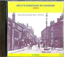 GENEALOGY DIRECTORY OF CHESHIRE 1914 CD ROM