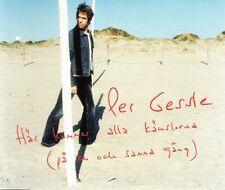 2-Track CD Single Per Gessle (Roxette), Här Kommer Alla Känslorna, RAR