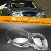 Ersatzabdeckung für Scheinwerferlinse für Benz W211 E200 E220 E240 E280 E300