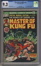 Special Marvel Edition #15 CGC 9.2  1st Appearance Shang Chi