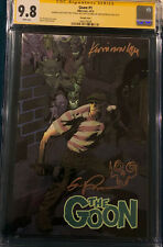 ERIC POWELL SIGNED ORIGINAL SKETCH CGC 9.8 THE GOON #1 COMIC BOOK KEVIN NOWLAN