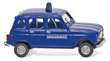Wiking 022404 - 1/87 Gendarmerie - Renault R4 - Neu