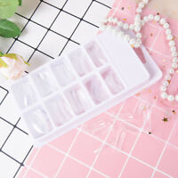 100pcs quick building poly gel nail forms mold tips extension dual nail art Z0HW