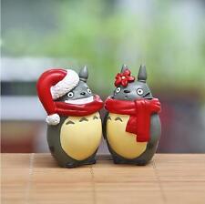 2pcs Studio Ghibli My neighbor totoro Christmas Couples Scarf Totoro DIY Figure