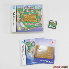 Animal Crossing Wild World - Boxed & Complete - Nintendo DS DSI / 3DS Game