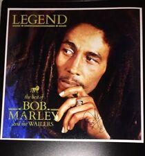 SIGNED BOB MARLEY LEGEND BEST OF 12x12 ALBUM PRINT BY 3 WAILERS BARRETT DOWNIE