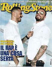 ROLLING STONE ITALIA=N°7/8 2016=MARRACASH&GUE PEQUENO=I 100 TOP ALBUM ANNI '90