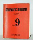 KENWOOD Service Manuals Buch von 1987 Almanach Schematic Diagram No.9