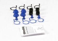 NEW Traxxas 5378X Pivot Ball Caps (4) Dust Boots Rubber (4) E-Revo *SHIPS FREE*