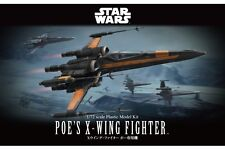 Star Wars Plastic Model Kit 1/72 POE'S X-WING FIGHTER Bandai Japan NEW **