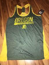 Champion NCAA Oregon Ducks Women's Tank Top Shirt Size Large