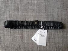 COMPTOIR DES COTONIERS 'Sileana' Lambskin Leather Stretchable Belt! UK 12-14