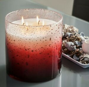 Torc Candles- 4.5KG- Luxurios 4-wick candle in handblown glass-up to 150hrs burn