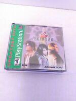 Final Fantasy VIII (PlayStation 1, 1999) CIB Green Label Tested Fast Shipping!