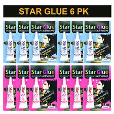 216b693961c 6 Star Glue Eyelash Adhesive Dark/Clear Made in KOREA 7 g - 1/