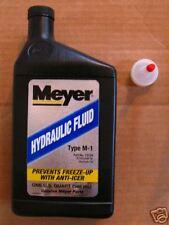 Genuine Meyer plow oil pump rebuild  Fluid E-47 E-60 NEW 15134 Type M1 E58 V66