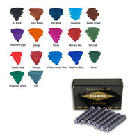 Diamine Ink Cartridges for fountain pens (Pack of 18 cartridges)