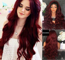 AU STOCK Ombre Bug Wave Synthetic Lace Front wig Heat Resistant Synthetic Wigs
