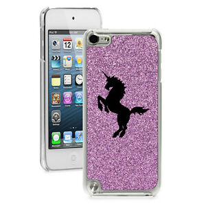 For Apple iPod Touch 4th 5th 6th Glitter Bling Hard Case Cover Unicorn