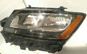 2009 2010 2011 2012 Audi Q5 Headlight Driver Left LH Halogen OEM with bracket