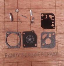ZAMA c1u-P CARB CARBURETOR REPAIR REBUILD kit RYOBI 410r 750r 767rj 775r 780r