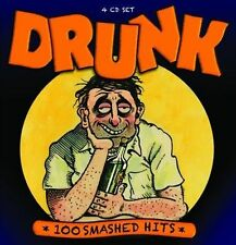 Drunk~100 Smashed Hits~Stuff Smith~Bo Carter~Various Artist~NEW 4 CD BOX SET