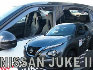 NISSAN JUKE II  2019 -  5.doors Wind deflectors 4.pc HEKO 24305