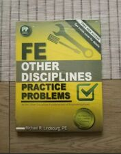 "Fe Other Disciplines Practice Problems by Michael Lindeburg 2014""Free Shipping"""