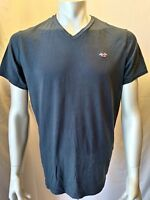 Hollister Tee Men's X-Large Blue Short Sleeve V Neck Cotton Casual T Shirt
