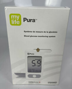 My life Pura Blood Glucose Monitoring System Sugar Diabetic Diabetes Level Test